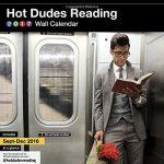 Kalender 2017 Hot Dudes Reading