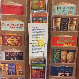 Boekenkaarten voor een goed doel