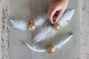 Kerstbal als Gouden Snaai