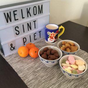 Welkomstbord Sinterklaas