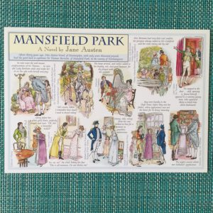 Kaart Mansfield Park