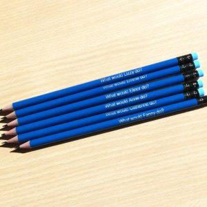 Blauwe Jane Austen potloden