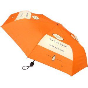 Paraplu met tekst On the road