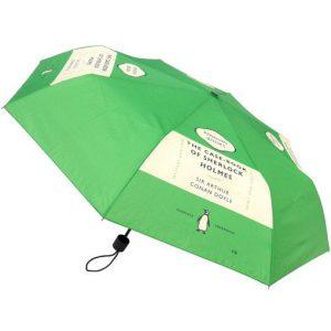 Paraplu met tekst Sherlock Holmes