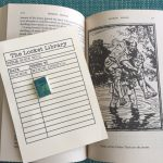 The Locket Library: Badge Robin Hood with book