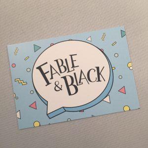 Logo van Fable & Black