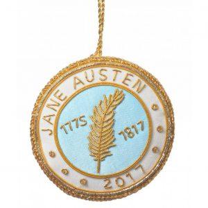 Jane Austen herdenkingsdecoratie