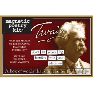 Magnetic Poetry Mark Twain