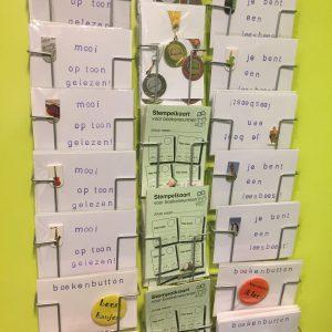 Stempelkaarten van Leesletters