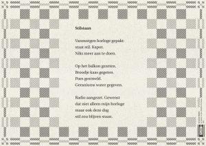 Plint Poezie Placemat