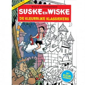 Suske en Wiske kleurboek