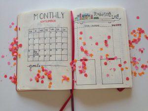 Bullet Journal Reading Log