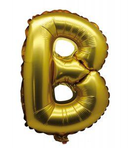 Folie ballon letter B
