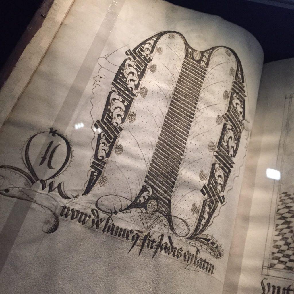 Magische miniaturen kalligrafie