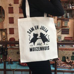 Linnen tas Het Muizenhuis
