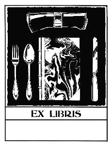 Ex libris placemat