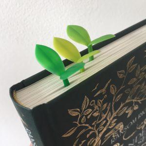 Boekenlegger blaadjes