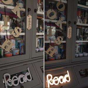 Lamp Read uit en aan versie