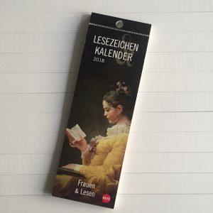 Boekenlegger kalender