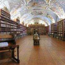 Strahov theologische bibliotheek