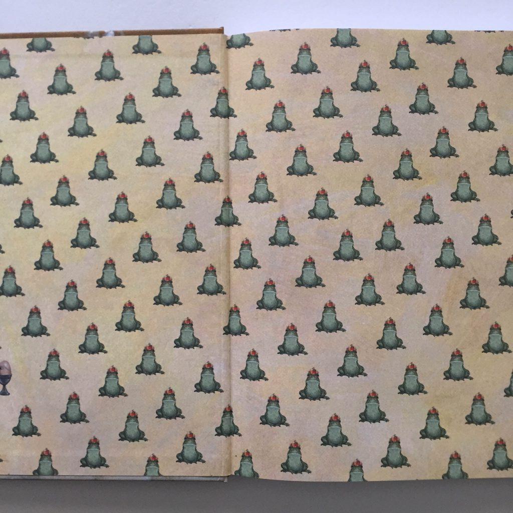 Schutblad van De kikkerbilletjes van de koning