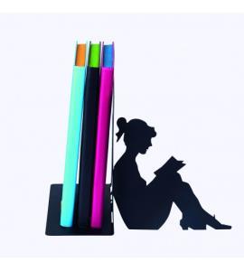 Boekensteun Lezende vrouw