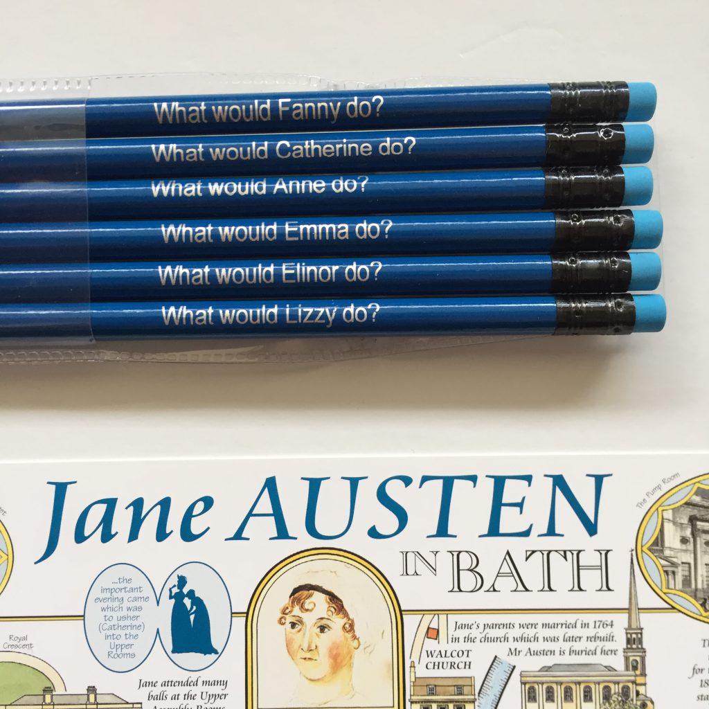Potlodenset Jane Austen