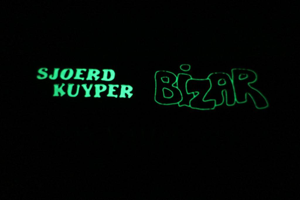 Bizar glow in the dark rug