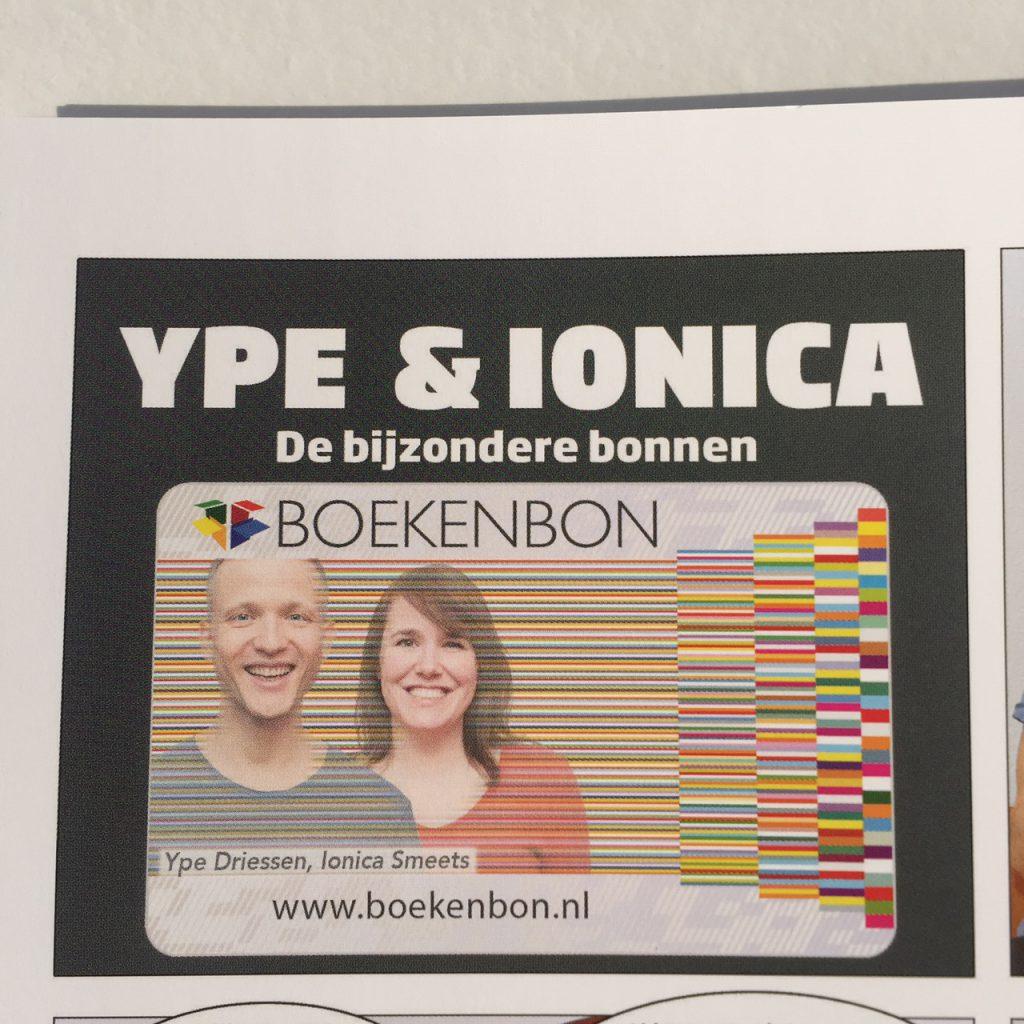 Ype & Ionica boekenbon