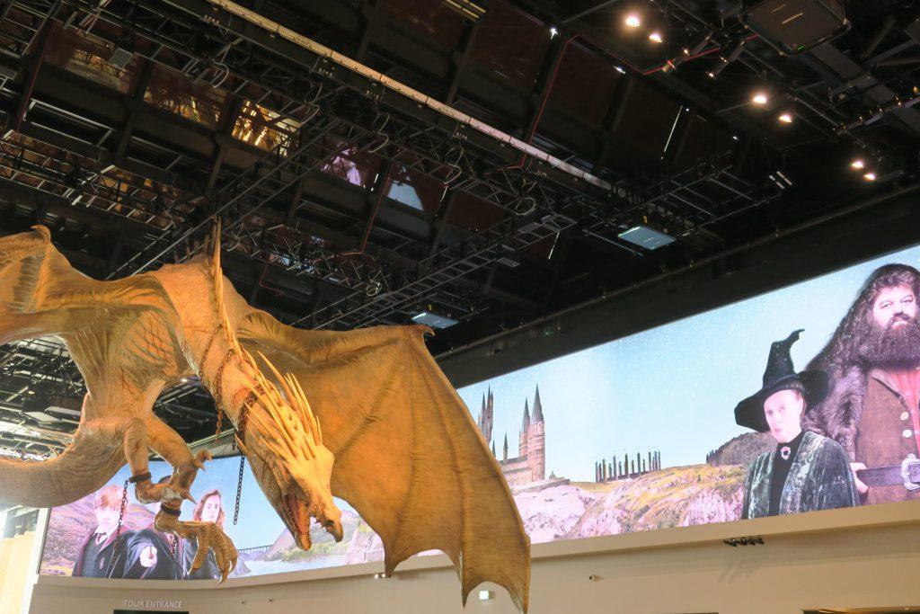 Harry Potter Studio Tour draak