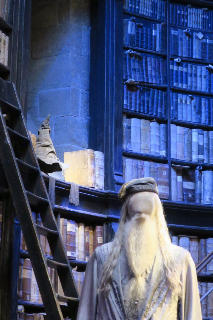 Harry Potter Studio Tour Dumbledores office