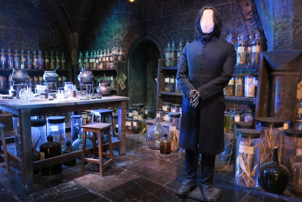 Harry Potter Studio Tour Potions Classroom