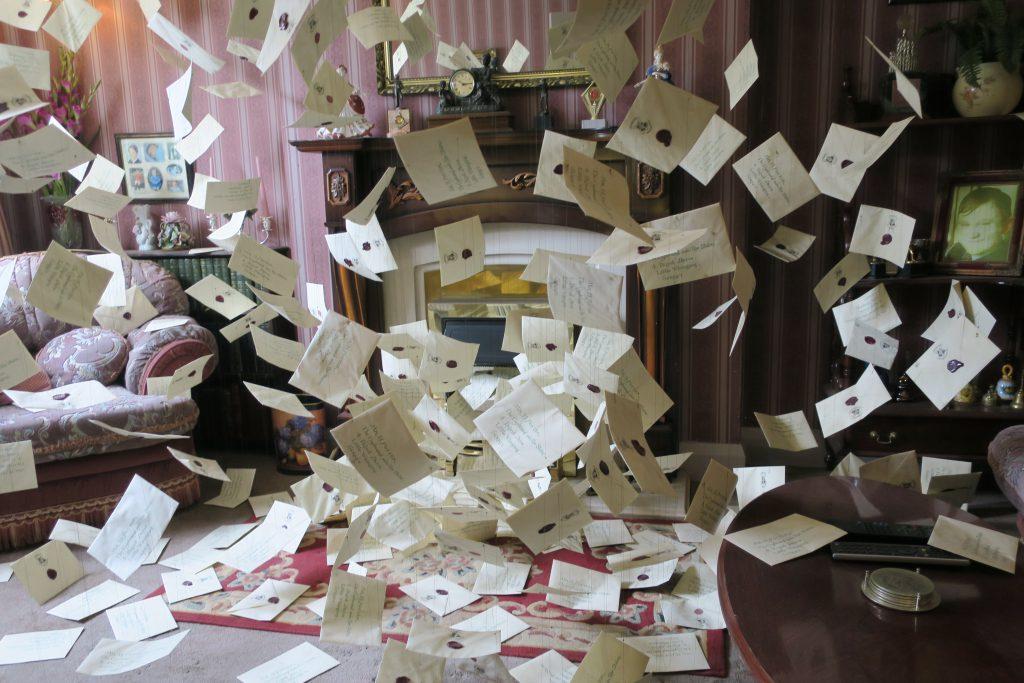 Harry Potter Studio Tour Hogwarts brieven