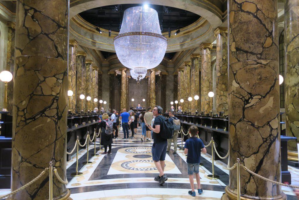 Harry Potter Studio Tour Gringotts