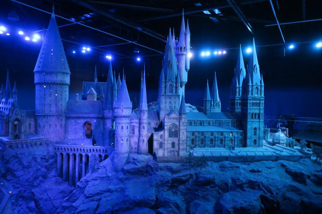 Harry Potter Studio Tour Hogwarts maquette