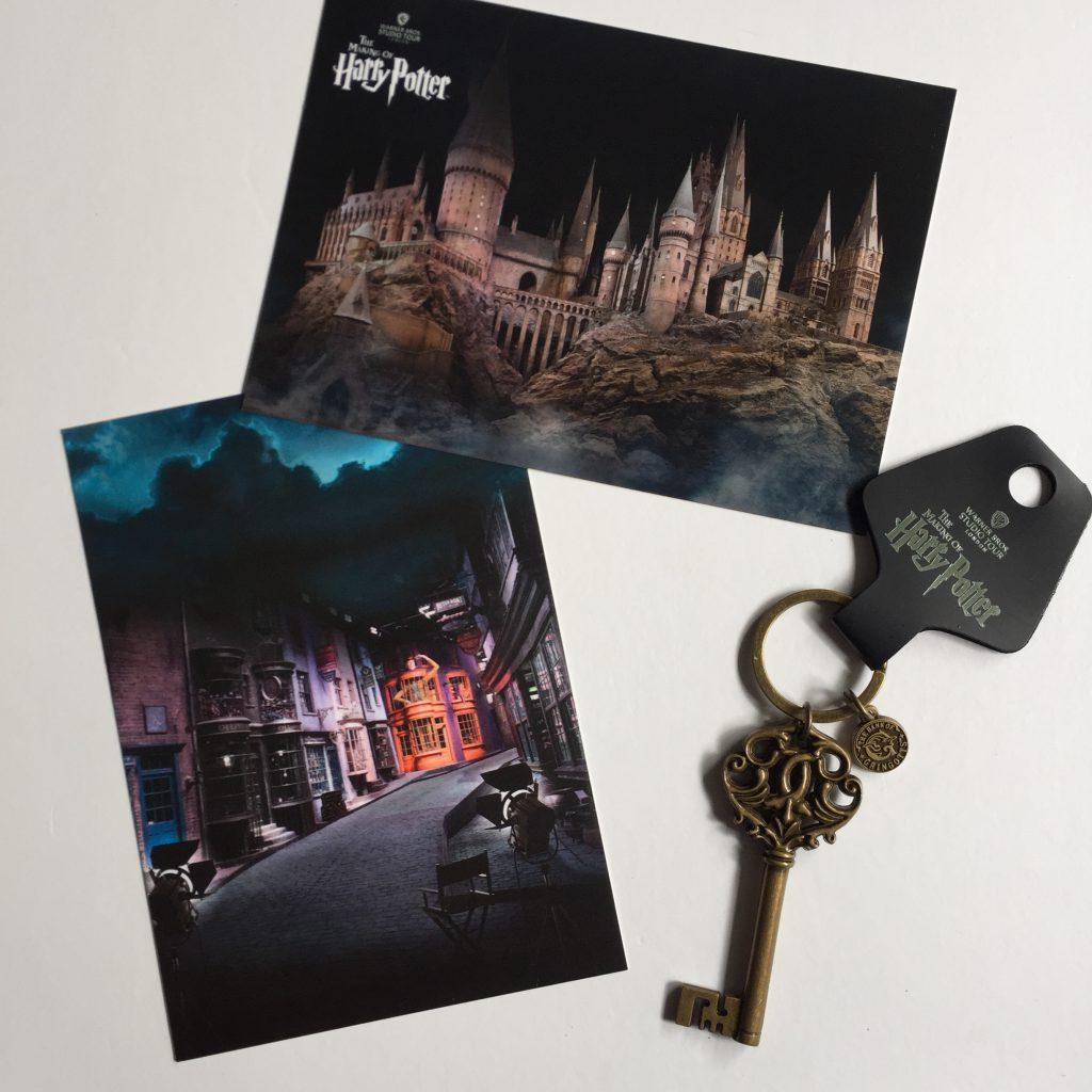 Harry Potter Studio Tour kaarten