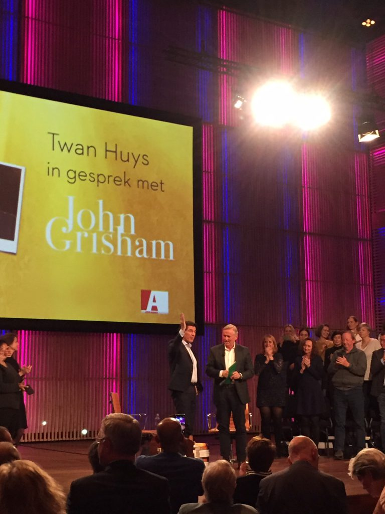 John Grisham - Twan Huys - afronding interview