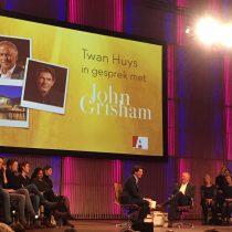 Twan Huys en John Grisham