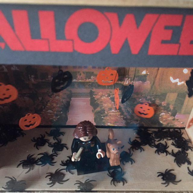 Hogwarts Halloween diorama