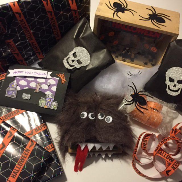 Verstuurde Halloween swap