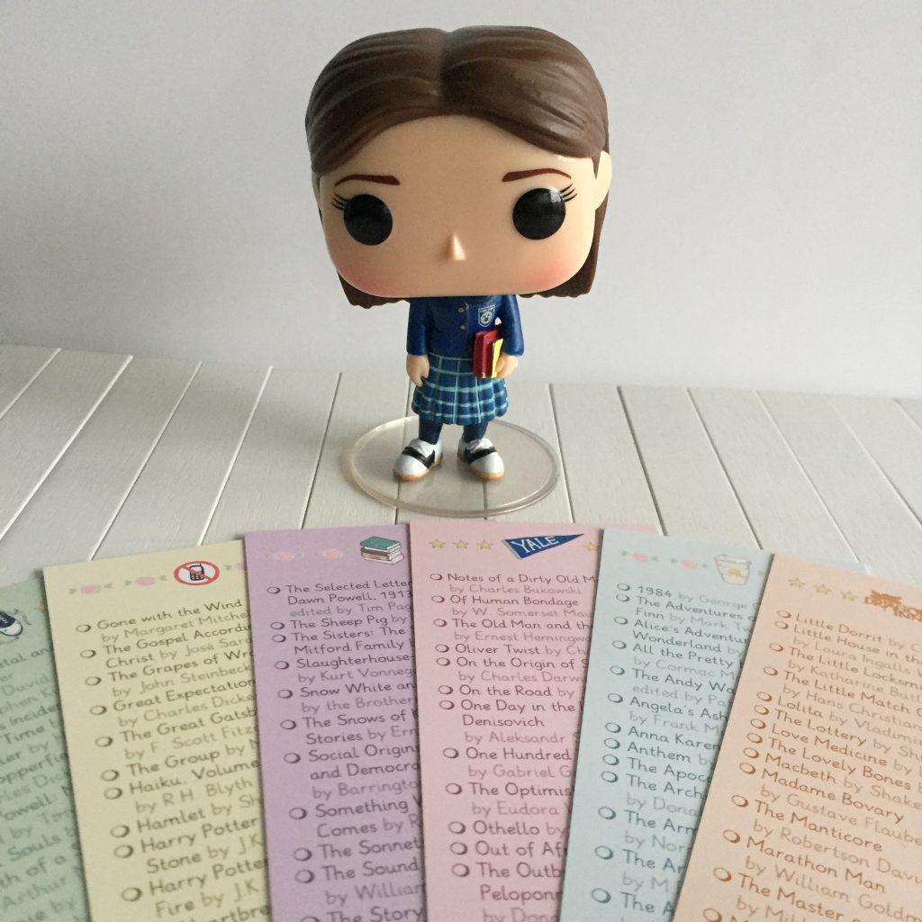 Gilmore Girls Rory Funko en boekenleggers