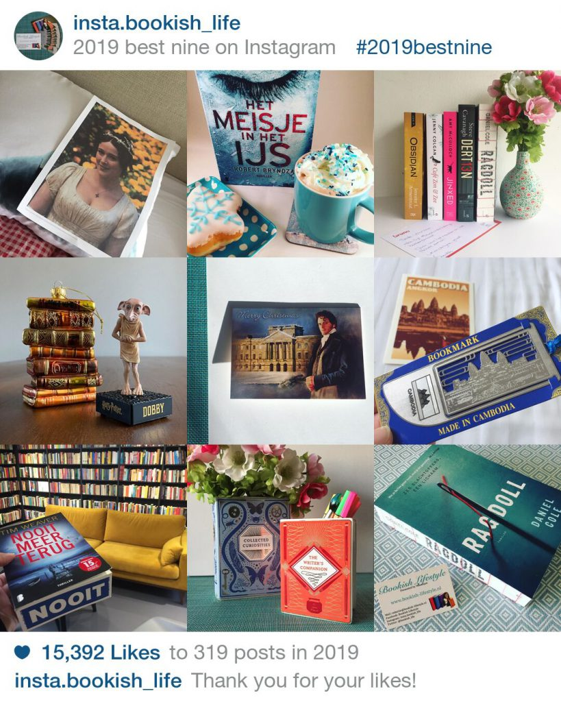 Best nine 2019 Instagram Bookish Lifestyle