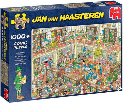 Puzzel Bibliotheek Jan van Haasteren