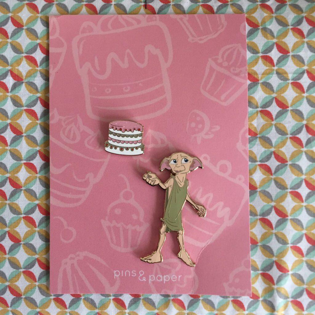 Studio Pins & Paper Dobby met taart