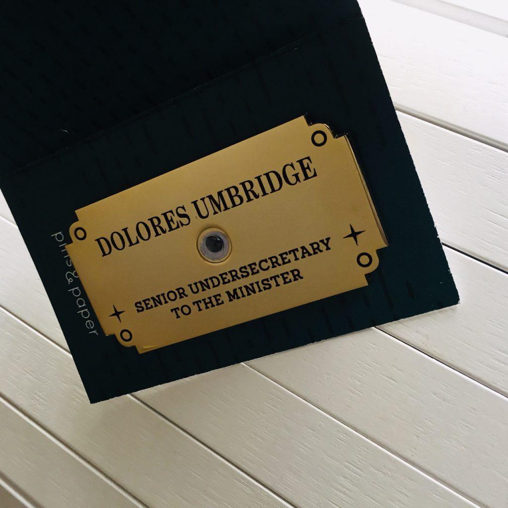 Studio Pins & Paper Dolores Umbridge