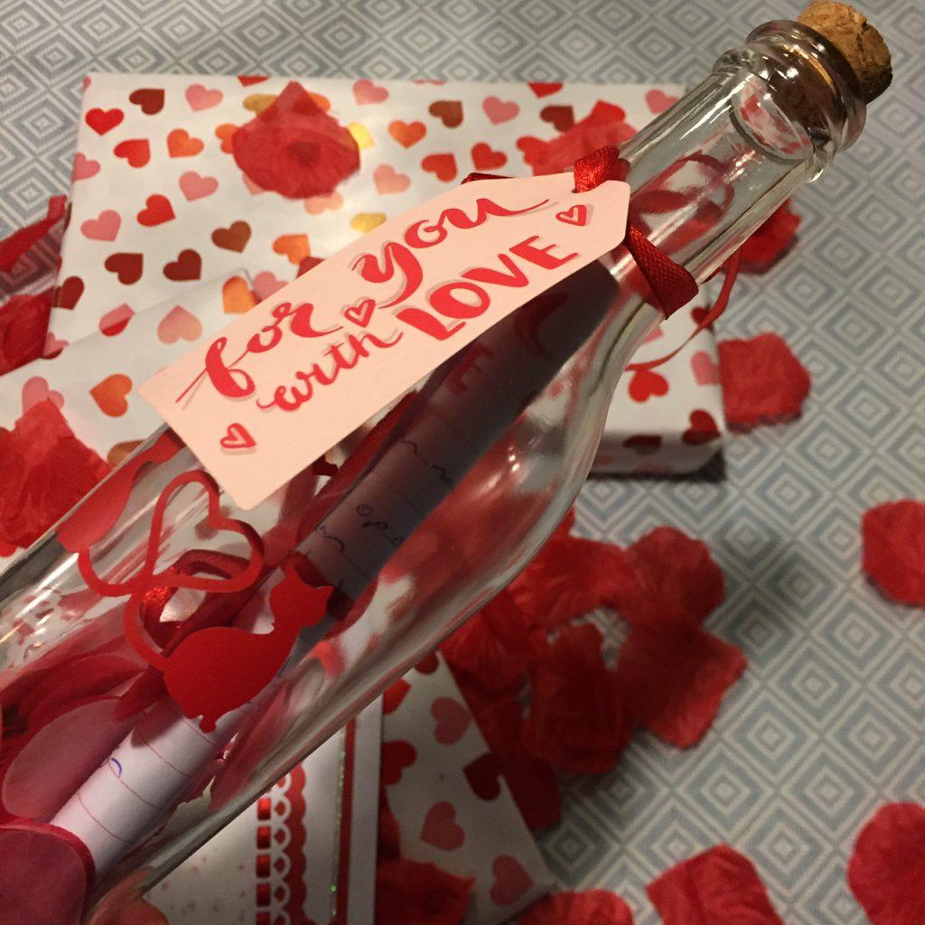 Valentijnsswap 2020 flessenpost