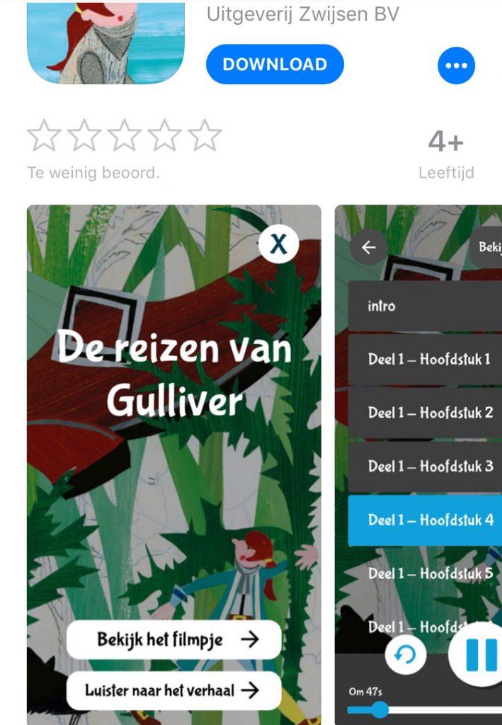 Zwijsen app Gulliver
