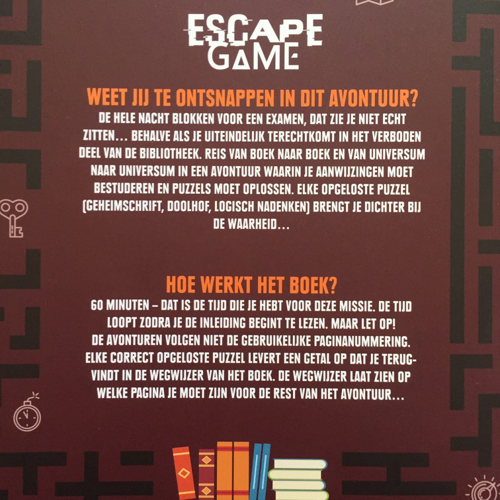 Achterflap Escape Game