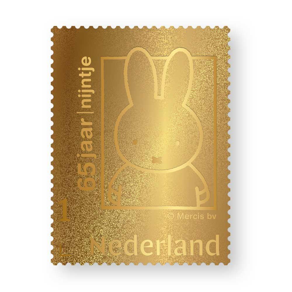 Gouden Nijntje postzegel