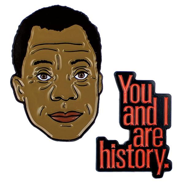 James Baldwin pin